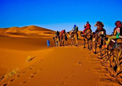 5 Days & 4 Nights Trip from Marrakech to Erg Chebbi – Ouarzazate Sahara Desert 4×4 Tour Around Erg Chebbi – Camel ride in Merzouga & Night in Desert Tent